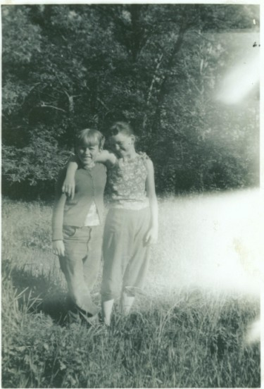 Ione and Caroline young