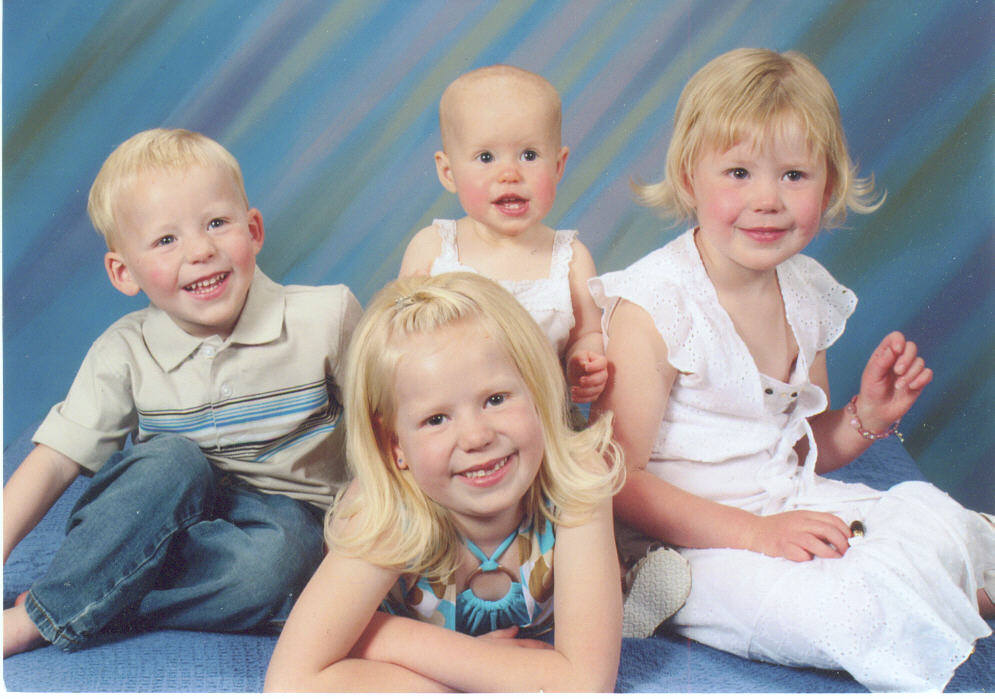 Rob's kids in 2007